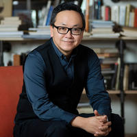 Headshot of Arsenal Pulp Press publisher, Brian Lam