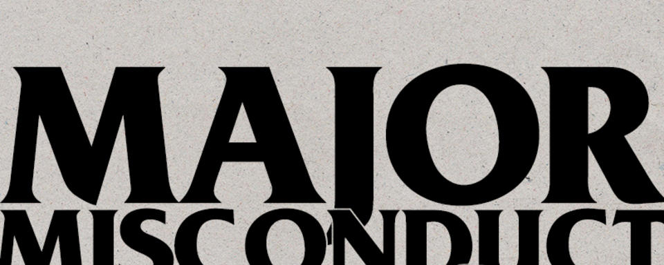 "LISTEN: Jeremy Allingham talks about Major Misconduct on NPR's ""All Things Considered"""