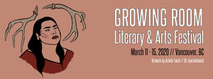 Arsenal authors featured at Growing Room festival in Vancouver