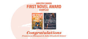 Amazon Canada First Novel Award finalists: John Elizabeth Stintzi and Francesca Ekwuyasi