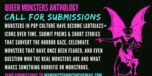 Queer monsters anthology: call for submissions